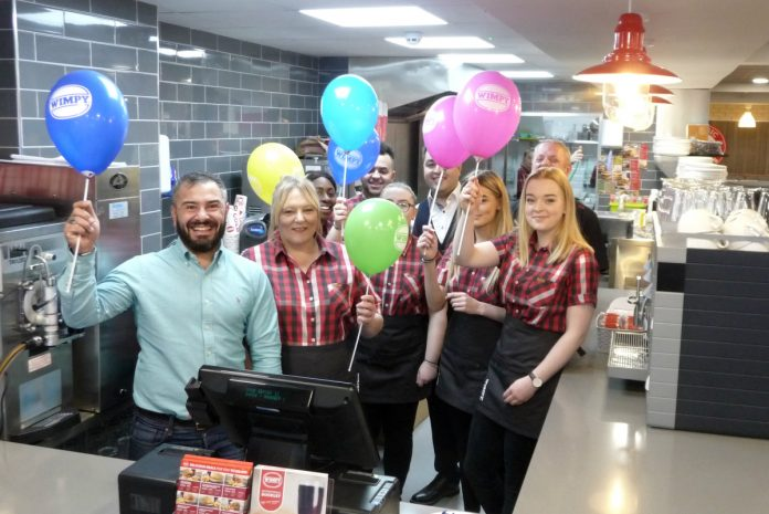 The team at Wimpy in Shrewsbury