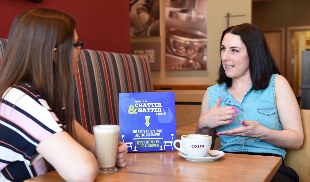 The Chatty Café Scheme - Costa Coffe - Telford