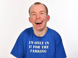 Lee Ridley, AKA Lost Voice Guy will appear at Shrewsbury International Comedy Festival