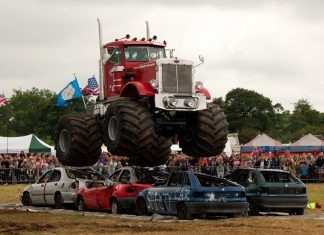 Monster Truck Big Pete will be entertaining the crowds