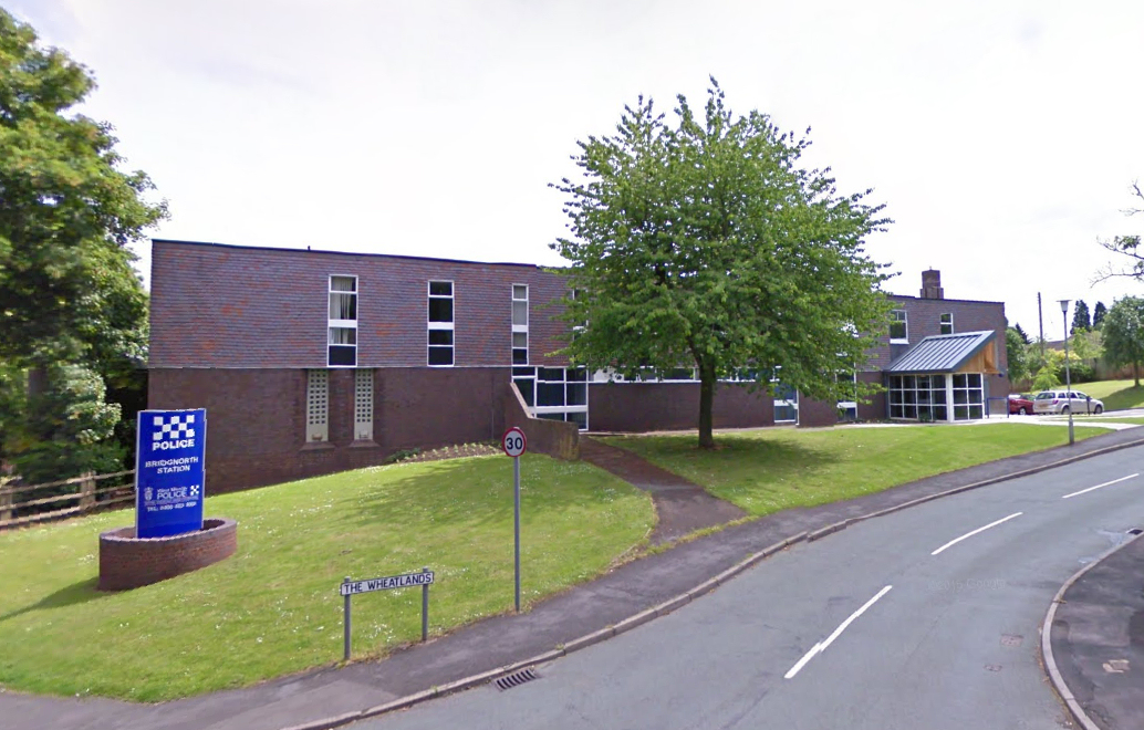 Bridgnorth Police Station is to relocate to Bridgnorth Fire Station. Photo: Google Street View