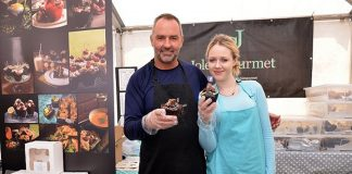 Tempting visitors with a huge selection of sweet and savoury muffins is Joles Gourmet