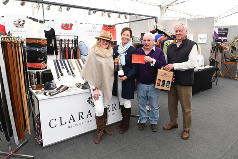 Trade Stands Badminton Horse Trials : Local company wins trade stand award at badminton horse