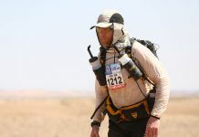 In 2016, Craig ran the Marathon des Sables, a gruelling six-day race through the boiling sands of the northern Sahara Desert