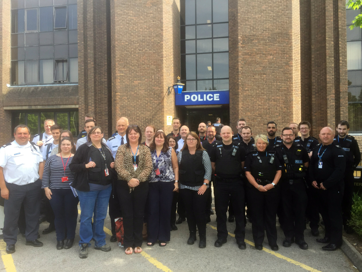 Telford and Wrekin's Multi-Agency Targeted Enforcement Strategy team
