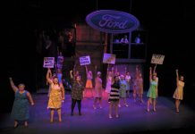 Made in Dagenham the Musical proved to be a hit at Theatre Severn