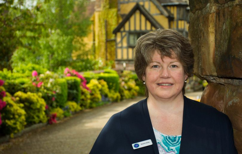 Niamh Kelly of the HR Dept Shropshire