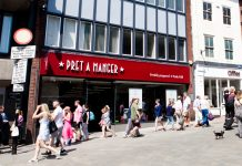Pret a Manger has recently opened in Shrewsbury
