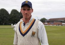 Robbie Clarke ended unbeaten on 107 as Shropshire beat Staffordshire at Himley
