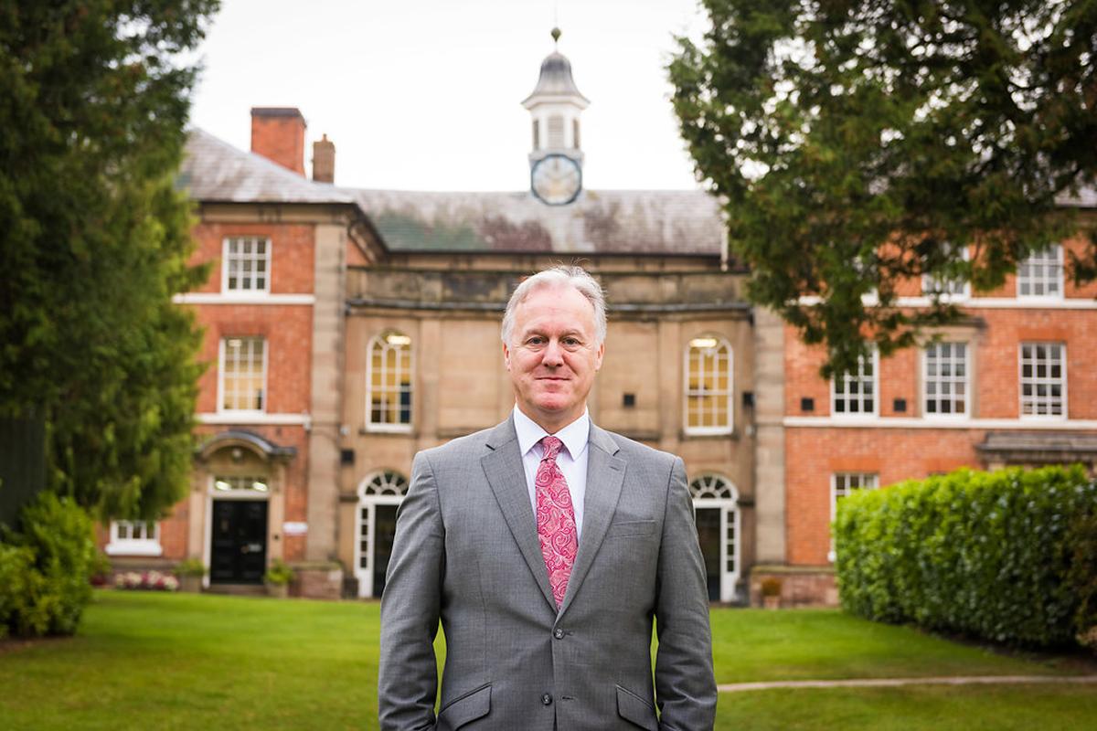 Mr Gary Hickey, Headmaster of Haberdashers' Adams