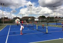 Shrewsbury's Monkmoor Recreation Ground will be taking part in the Great British Tennis Weekend this Sunday
