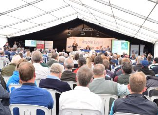 The Arable Event attracts farmers from across the region