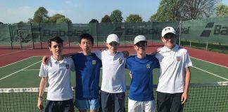The Shropshire boys team at Wrexham