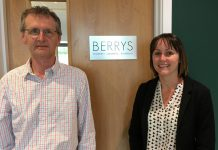 Jon Tarrant and Bethan Humphreys have joined the team at Berrys