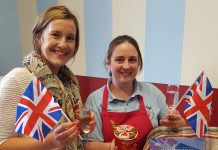 Esther Wright, director of Fizz Festivals, organisers of Proms and Prosecco in the Park and Donna Hand, owner of Craft and Roll Ice Cream in Shrewsbury