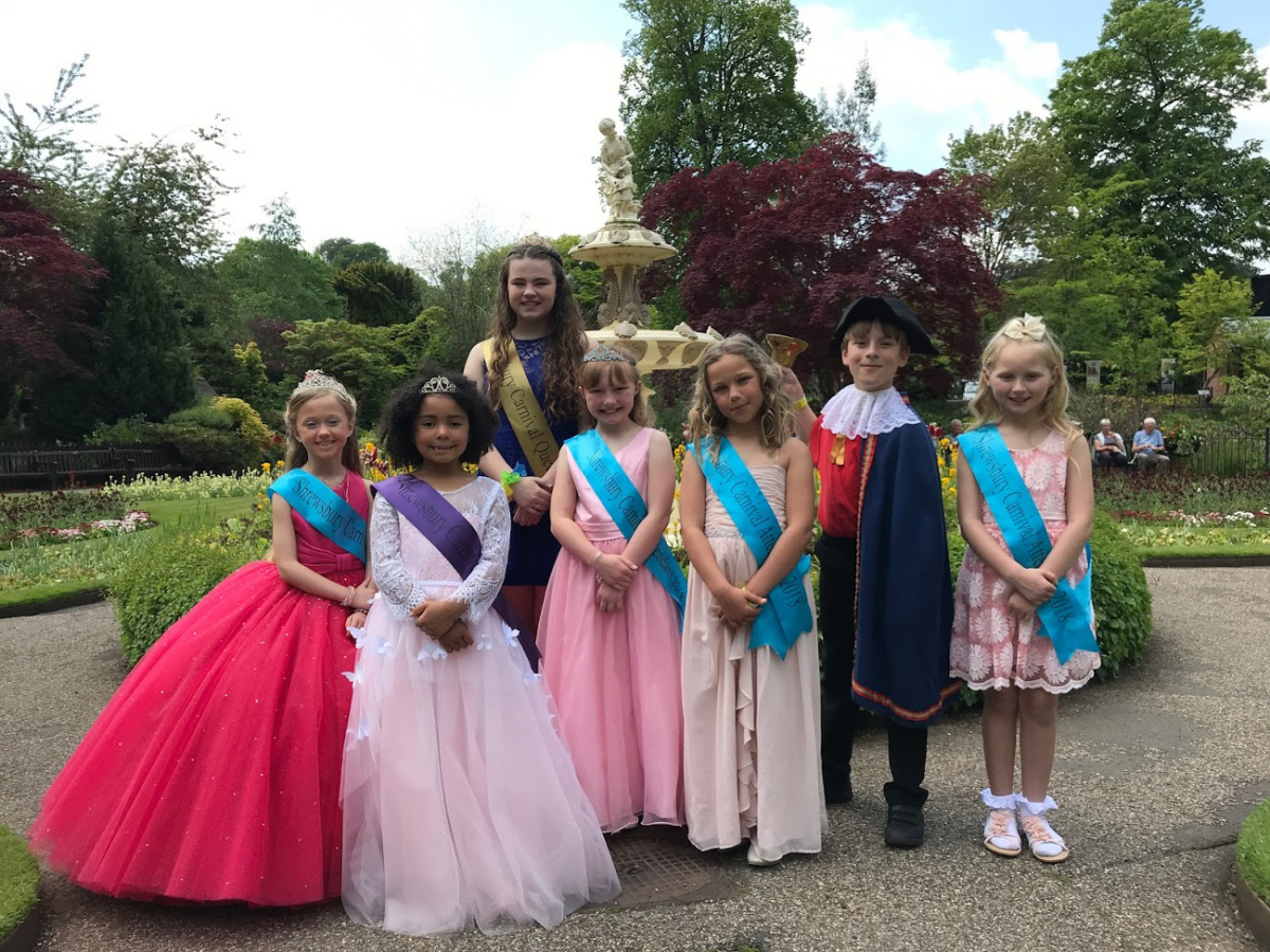Shrewsbury Carnival's Royalty get ready for the big day