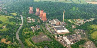 The former Ironbridge Power Station site. Photo: Harworth Group PLC