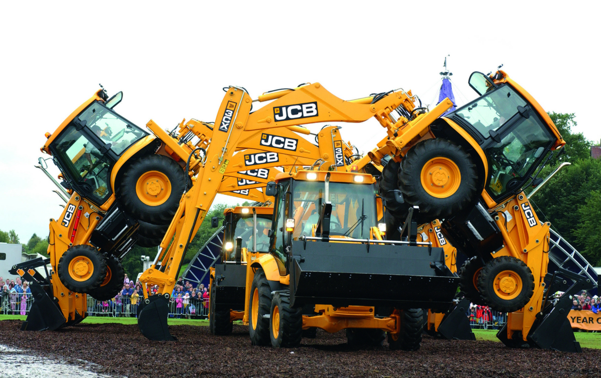 A rare appearance from the JCB Dancing Diggers will be one of the highlights of this year's Newport Show