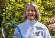 Liz Boyle will be presented with her award at Wimbledon next month