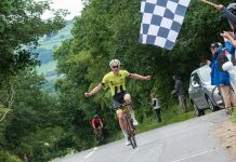 The race was won by Oliver Hayward of Rhino Velo Race Team. Photo: David Perry