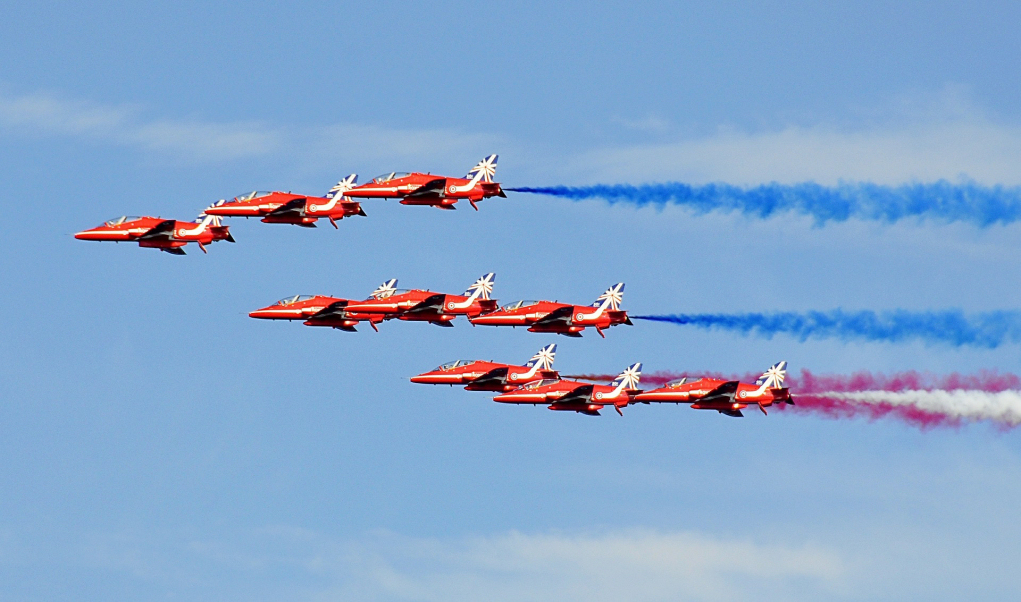Red Arrows - Marches Schhol Fun Day