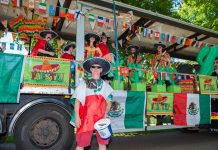 Shrewsbury Carnival takes place on Saturday 16 June 2018. Photo: Steven Oliver Photography