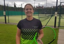 Shropshire's Holly Mowling won three of her four singles matches in Bournemouth