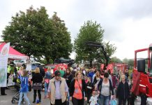 Crowds flock to a previous open day at Wellington Fire Station