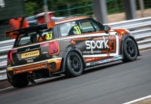 Rob Smith on home ground at Oulton Park Island Circuit. Photo: Mark Campbell/CarSceneUK