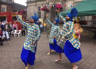 Bhangra performers will entertain the crowds at Bailey Head