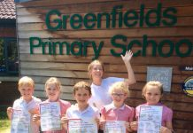 Pupils at Greenfields Primary School are looking forward to Saturday's summer fair