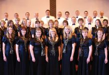 Members of the award-winning mixed choir, Of One Accord