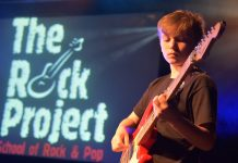 More than 50 guitarists, bass players, singers and drummers aged 7 to 18 will perform at Bayston Hill Memorial Hall