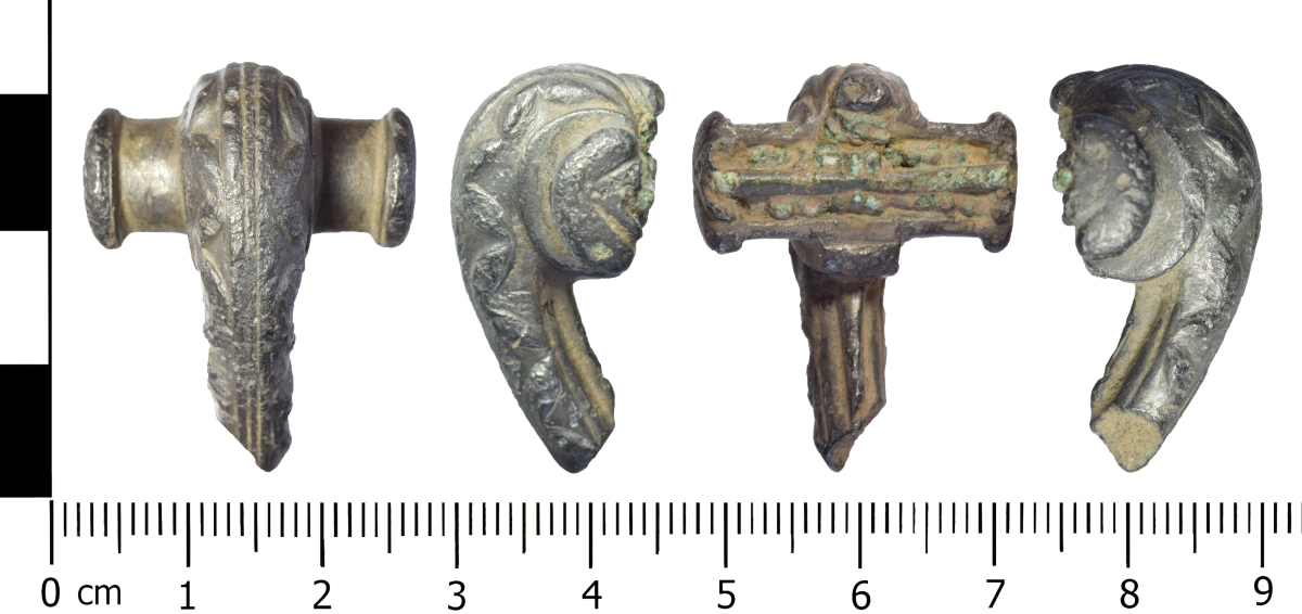 The Roman brooch was discovered near Wem in December 2017. Photo: National Museum Wales