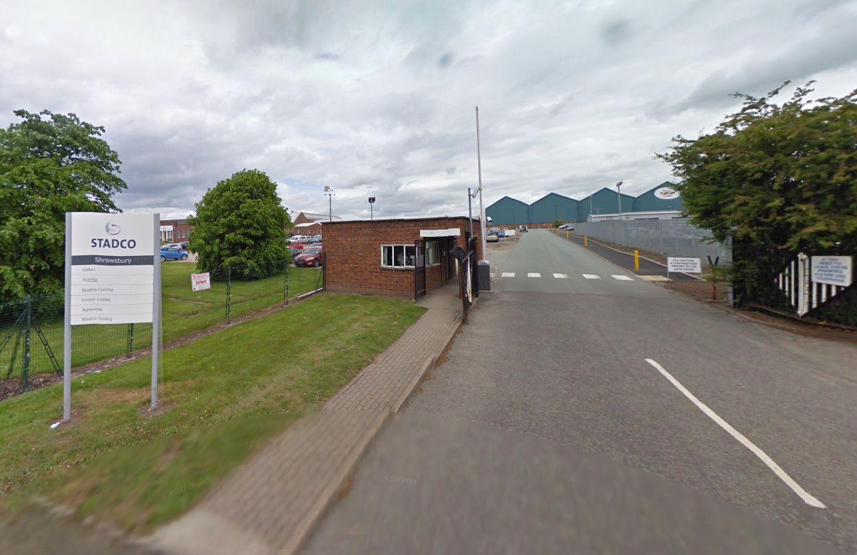 Stadco on Harlescott Lane in Shrewsbury. Photo: Google Street View