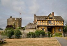 Stokesay Castle in south Shropshire. Photo: English Heritage