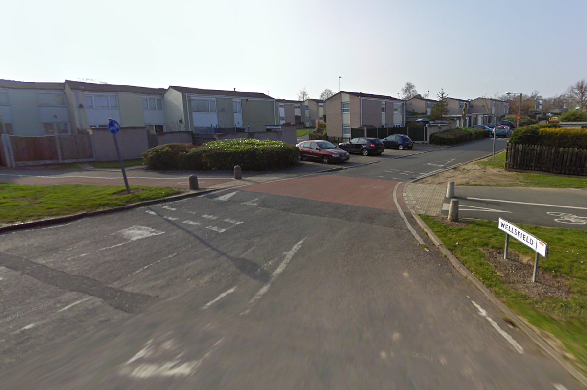 The assault happened in Wellsfield in Woodside. Photo: Google Street View