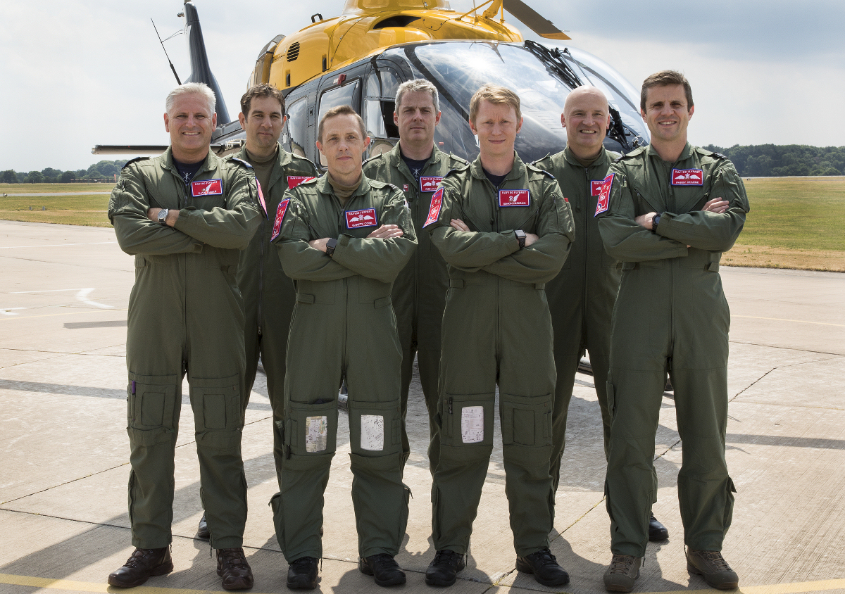 RAF Shawbury helicopters to take part in historic flypast ...