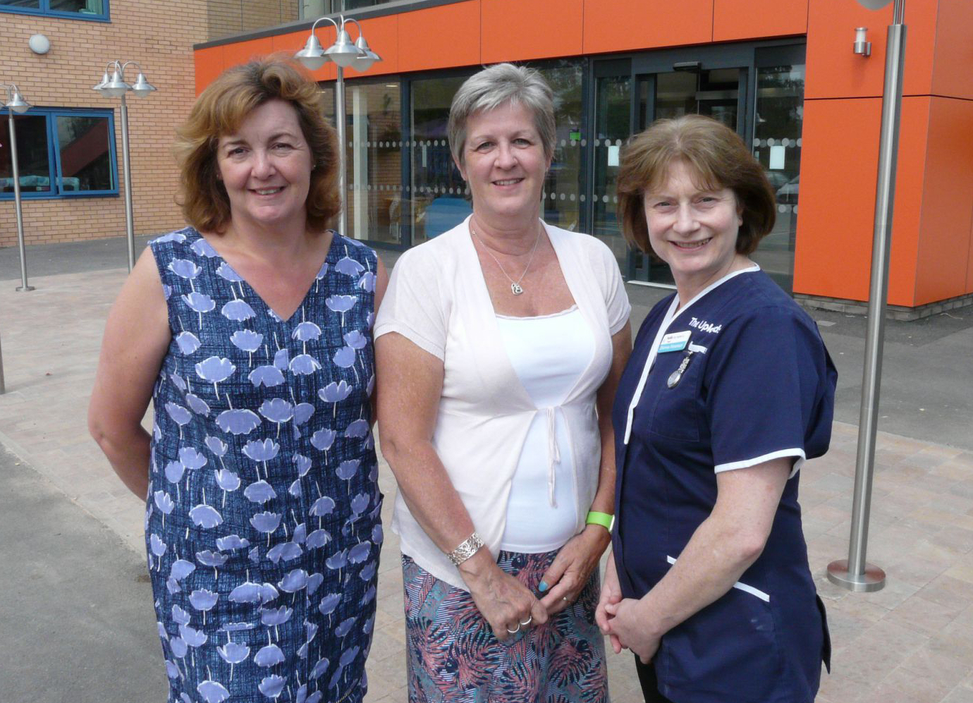 Jan Downes, Carey Bloomer and Dianne Foreman at The Uplands