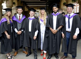 Students at the recent Shrewsbury Colleges Group graduation ceremony