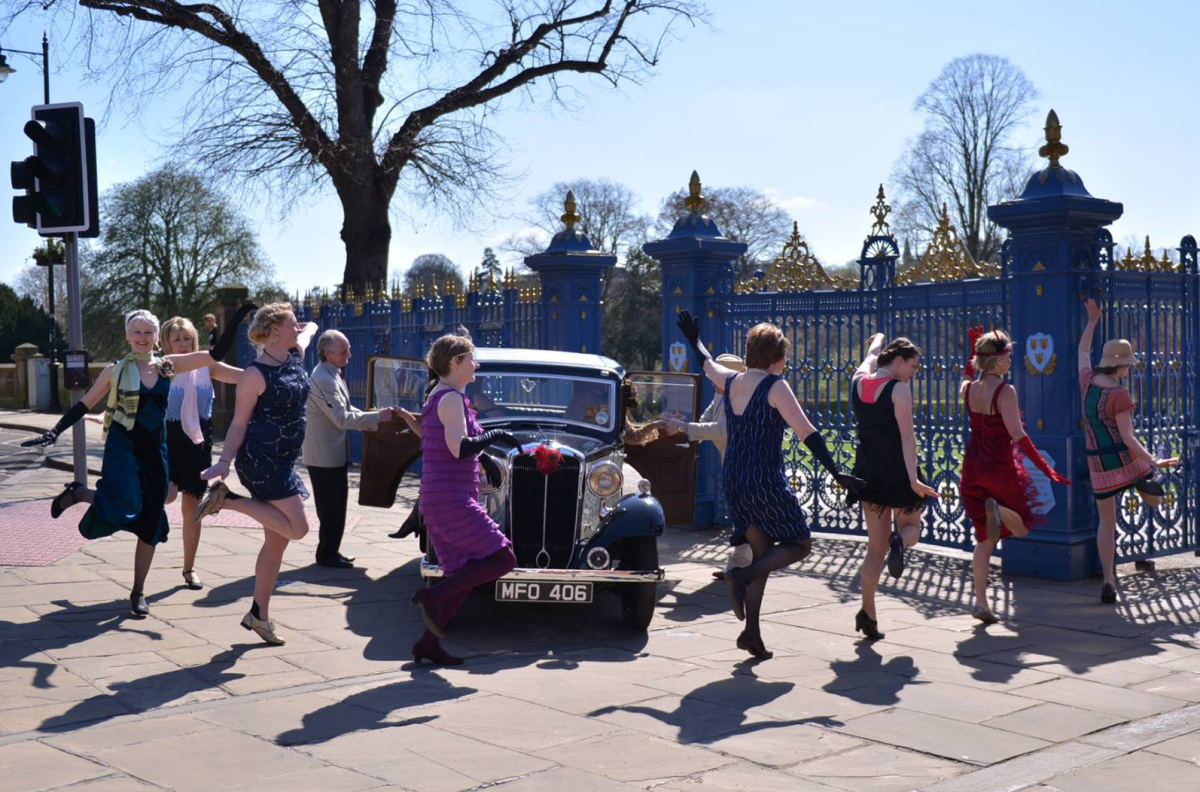 Revel in Dance is set to get Shrewsbury in a flap with a Guinness World Record Charleston attempt