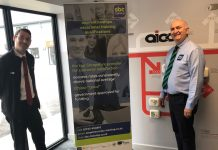 Aico's National Technical Manager, Andrew Speake and Colin Thaw from SBC Training