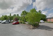 The assault is reported to have taken place in the car park near the Travel Lodge. Photo: Google Street View