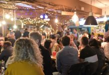 A busy Birds Nest during a recent late night opening at Shrewsbury Market Hall