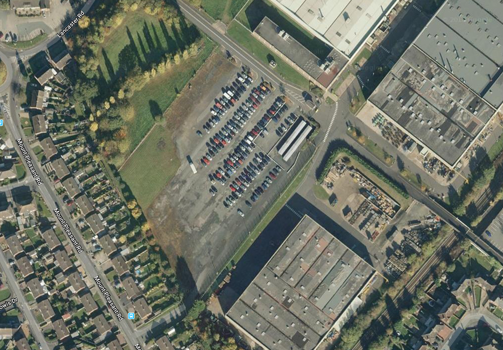 An overview of the site off Lancaster Road in Shrewsbury. Image: Google Maps