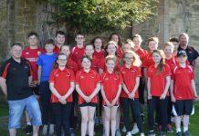 Oswestry Otters swim team
