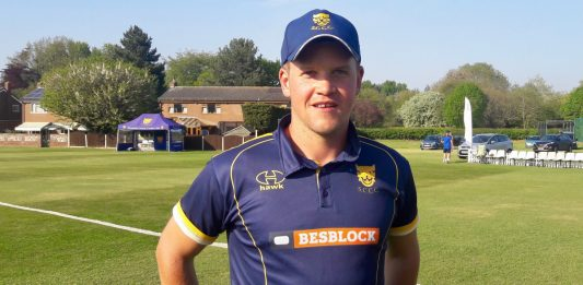 Sam Whitney, the Bridgnorth captain, is looking forward to representing Shropshire at his home club ground in the three-day match against Devon which starts on Sunday