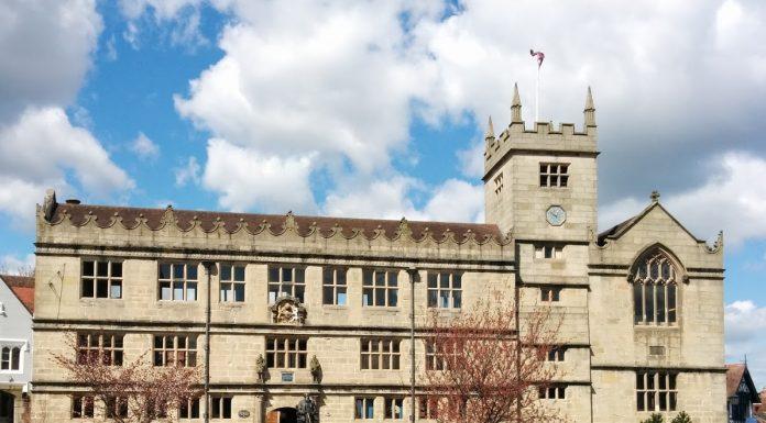 Shrewsbury Library on Castle Gates