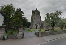 The assault took place in the grounds of St Oswald's Church. Image: Google Street View