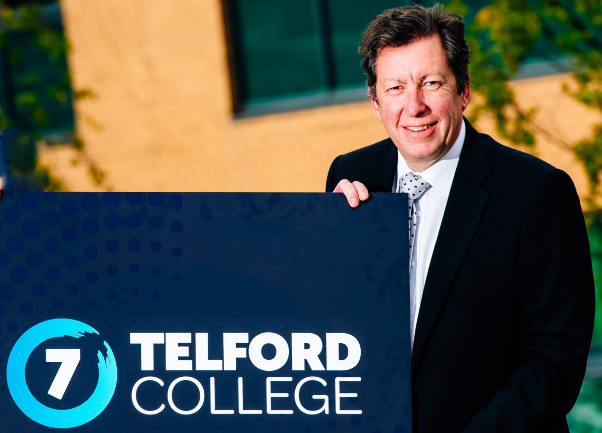 Graham Guest, principal and chief executive of Telford College